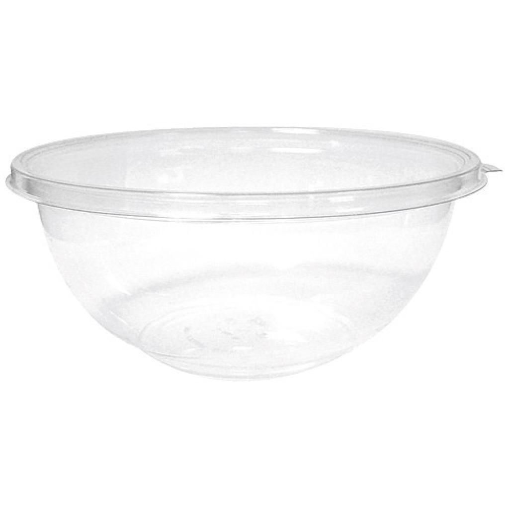 75cl transparent crystal PET salad bowl