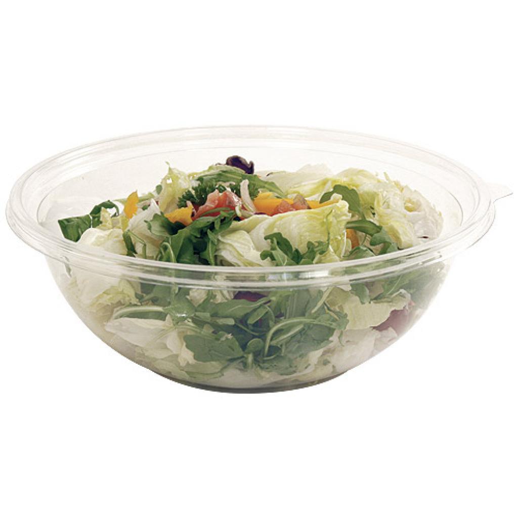 75cl transparent crystal PET salad bowl 2