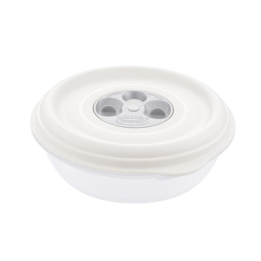 Bol PP blanc 1L réutilisable diamètre 180mm