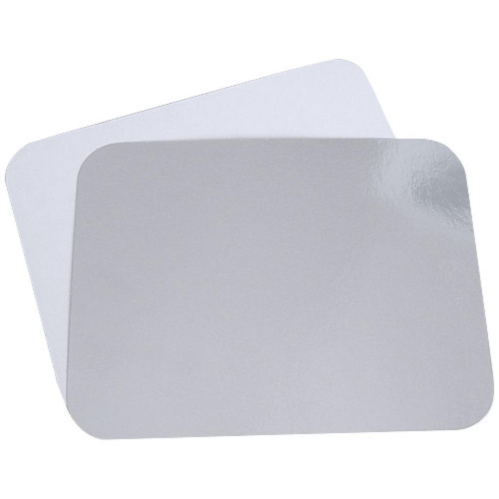 Cardboard lid for aluminium container
