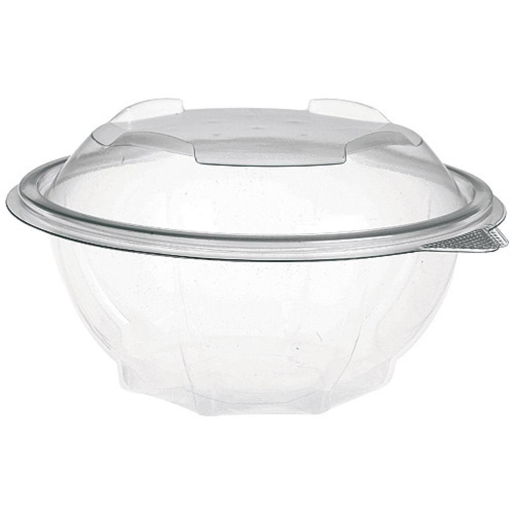 75cl round PET plastic Eole salad bowl