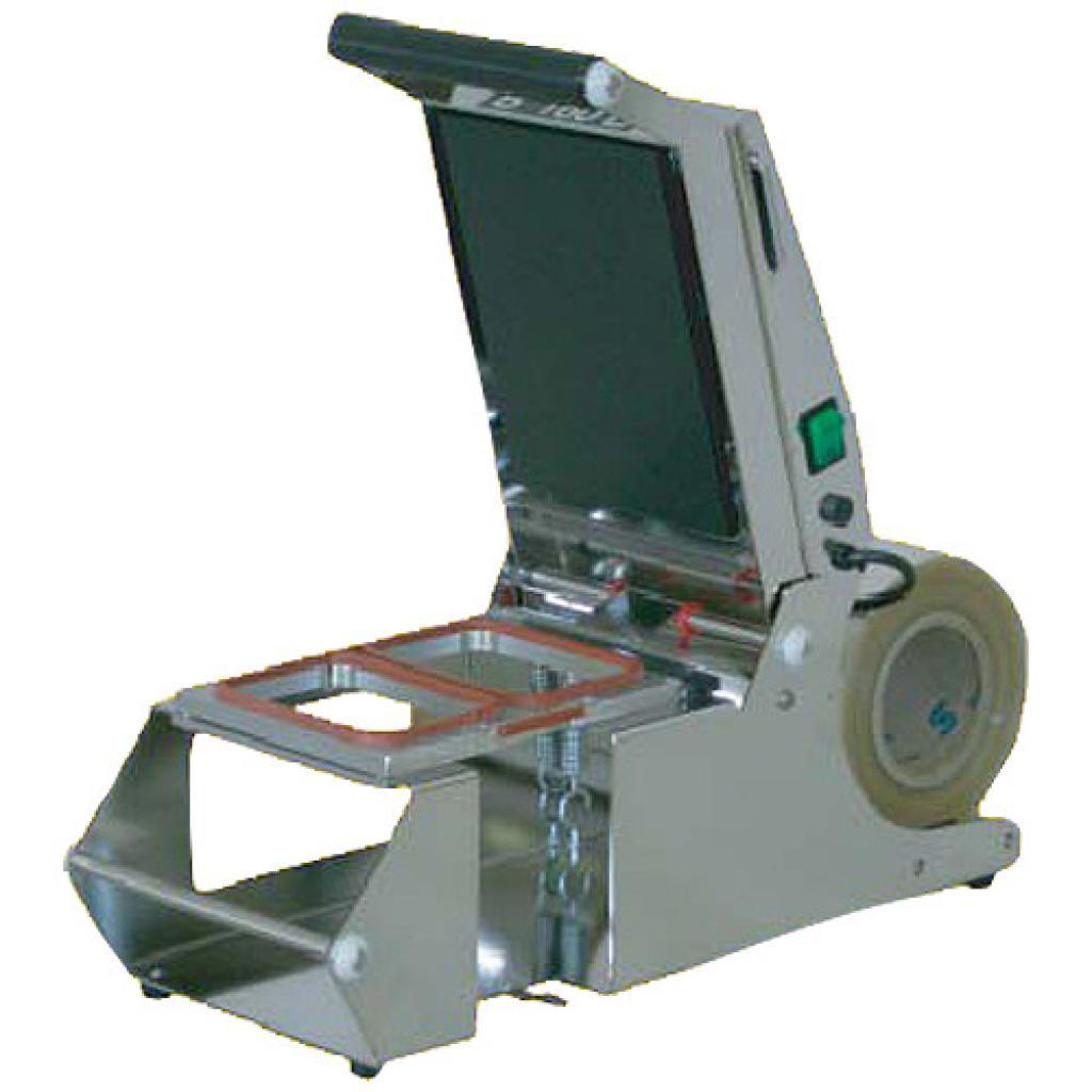 Stainless steel manual heat-sealer