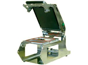 Stainless steel manual heat-sealer without hotplate
