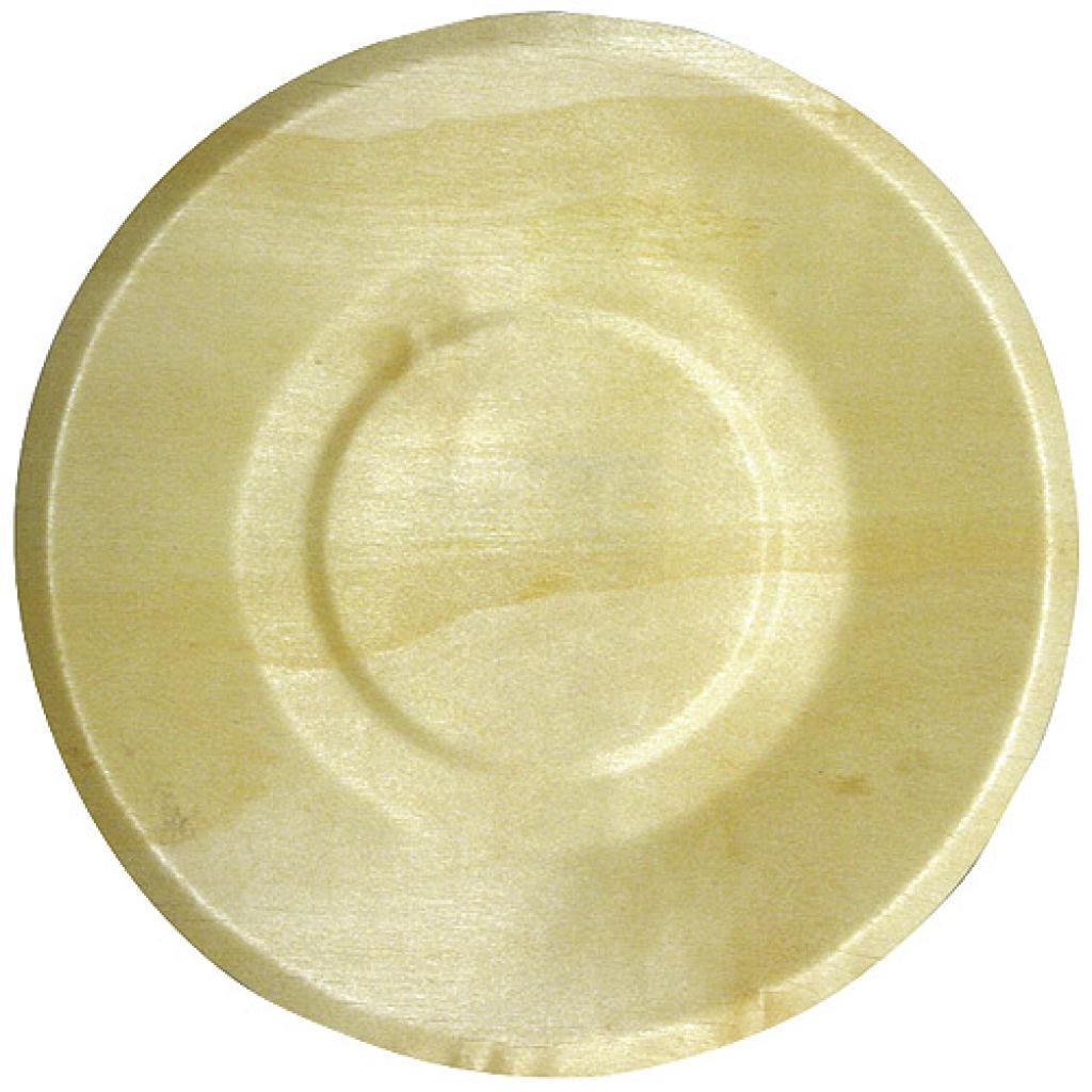 Wooden plate Ø 155 mm