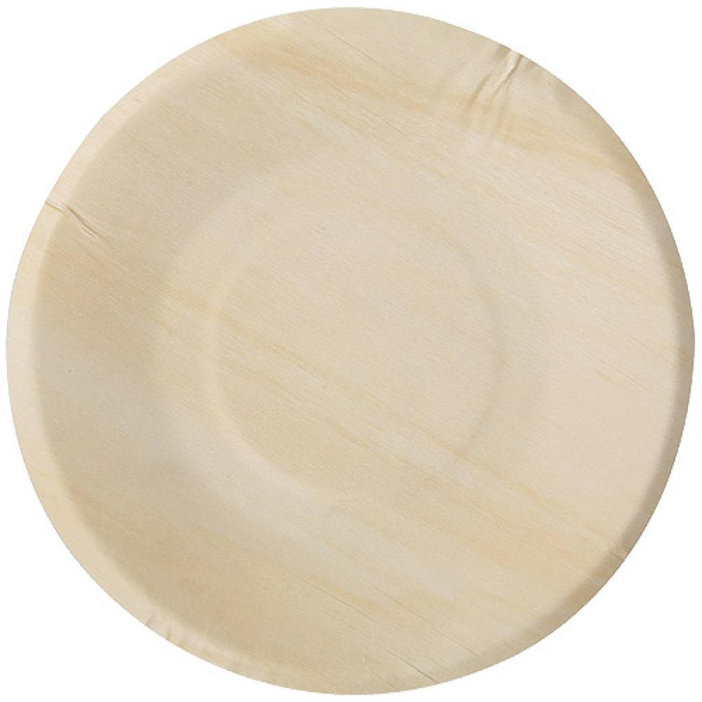 Assiette en Bois D.190MM (X100)