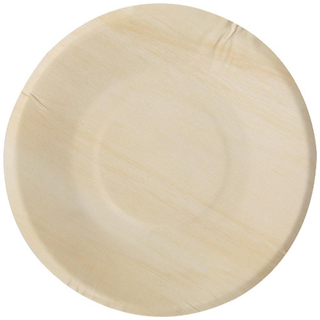 Assiette en bois Ø 215 mm
