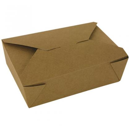 Boîtes Firpack bio en carton kraft 1965ml