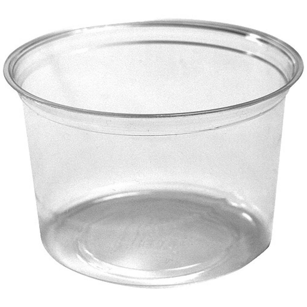 40cl round PLA pot 2