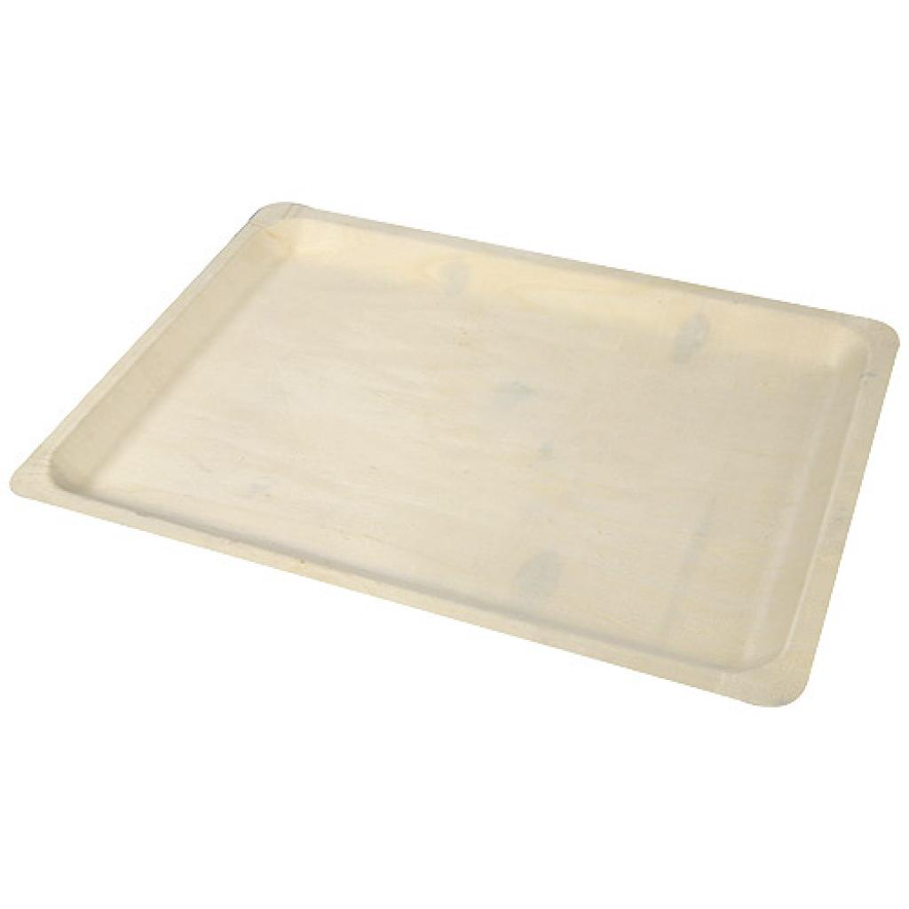 280x420mm rectangular wooden tray