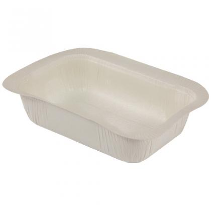 Compostable food tray 410 cc