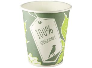 Paper cup with cpla coating, 25/30 cl