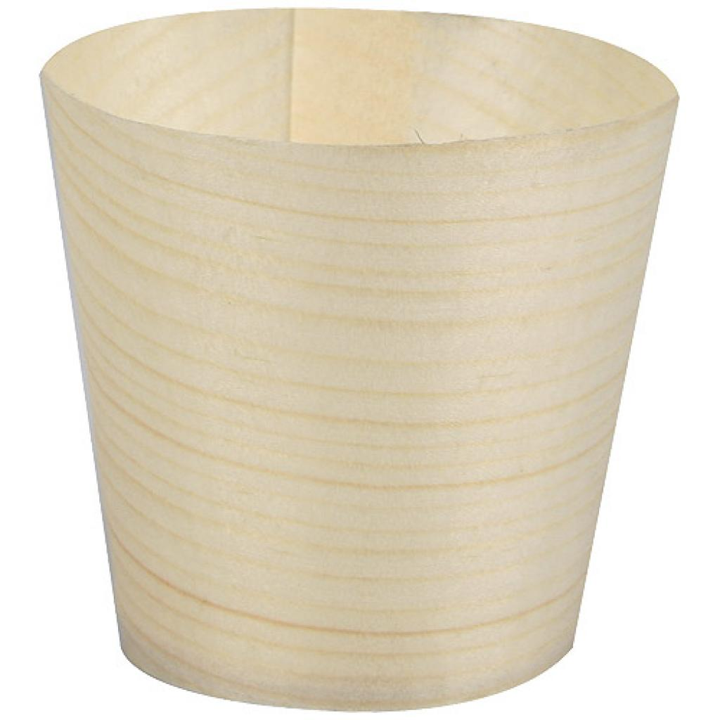 Verrine en bois Ø 4,5 cm x h 4,5 cm