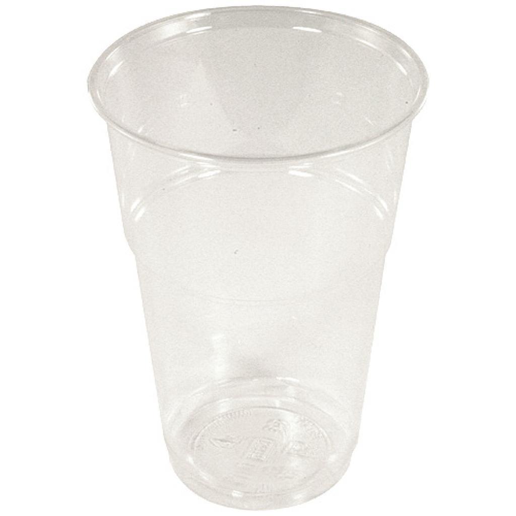 Gobelet 40/50 cl cristal en PLA