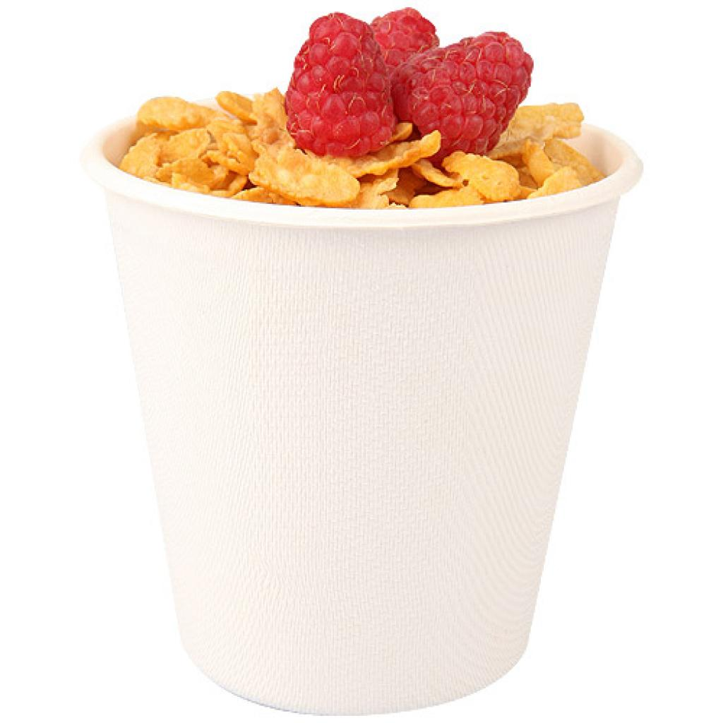 White pulp cup 37cl