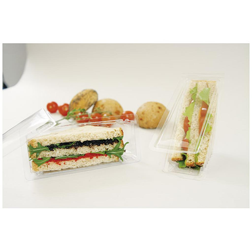 Single triangular sandwich box 70x180 2