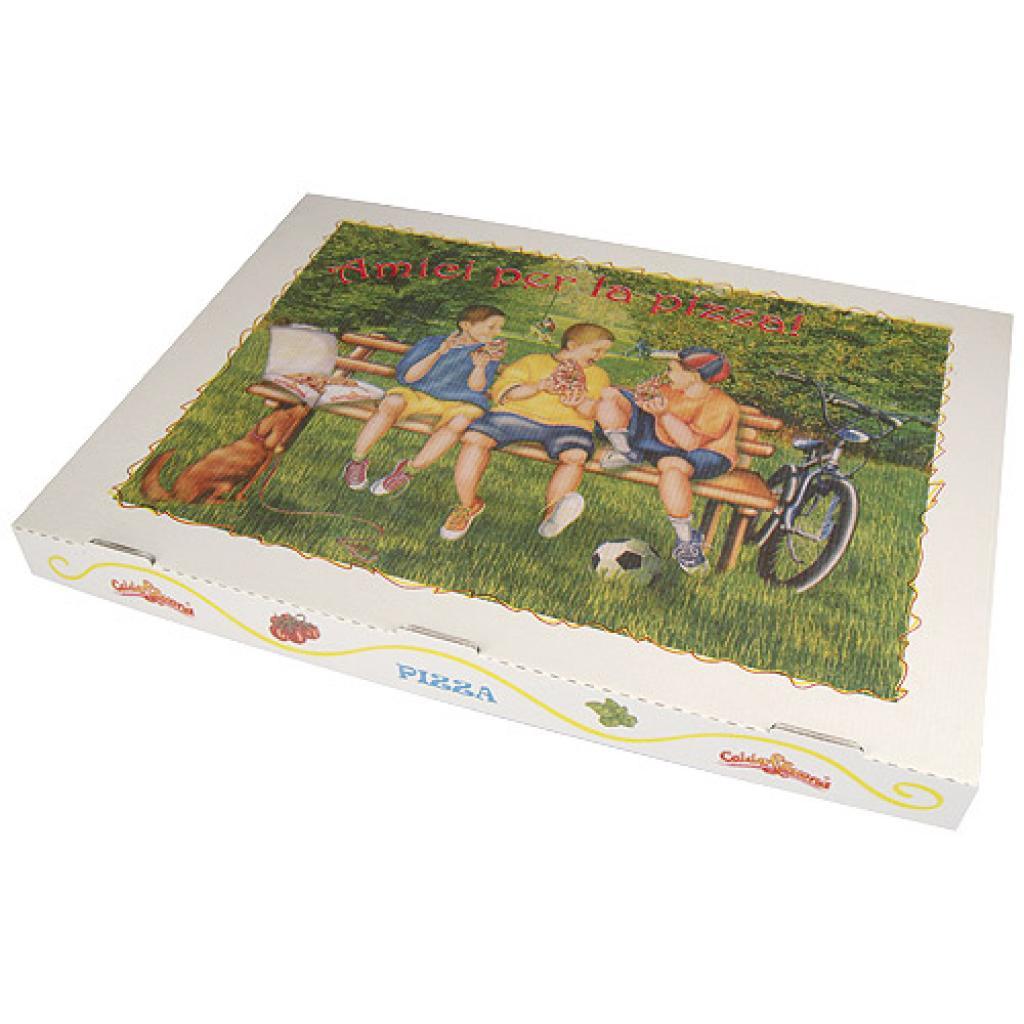 Boîte pizza en carton  60x40x5 cm