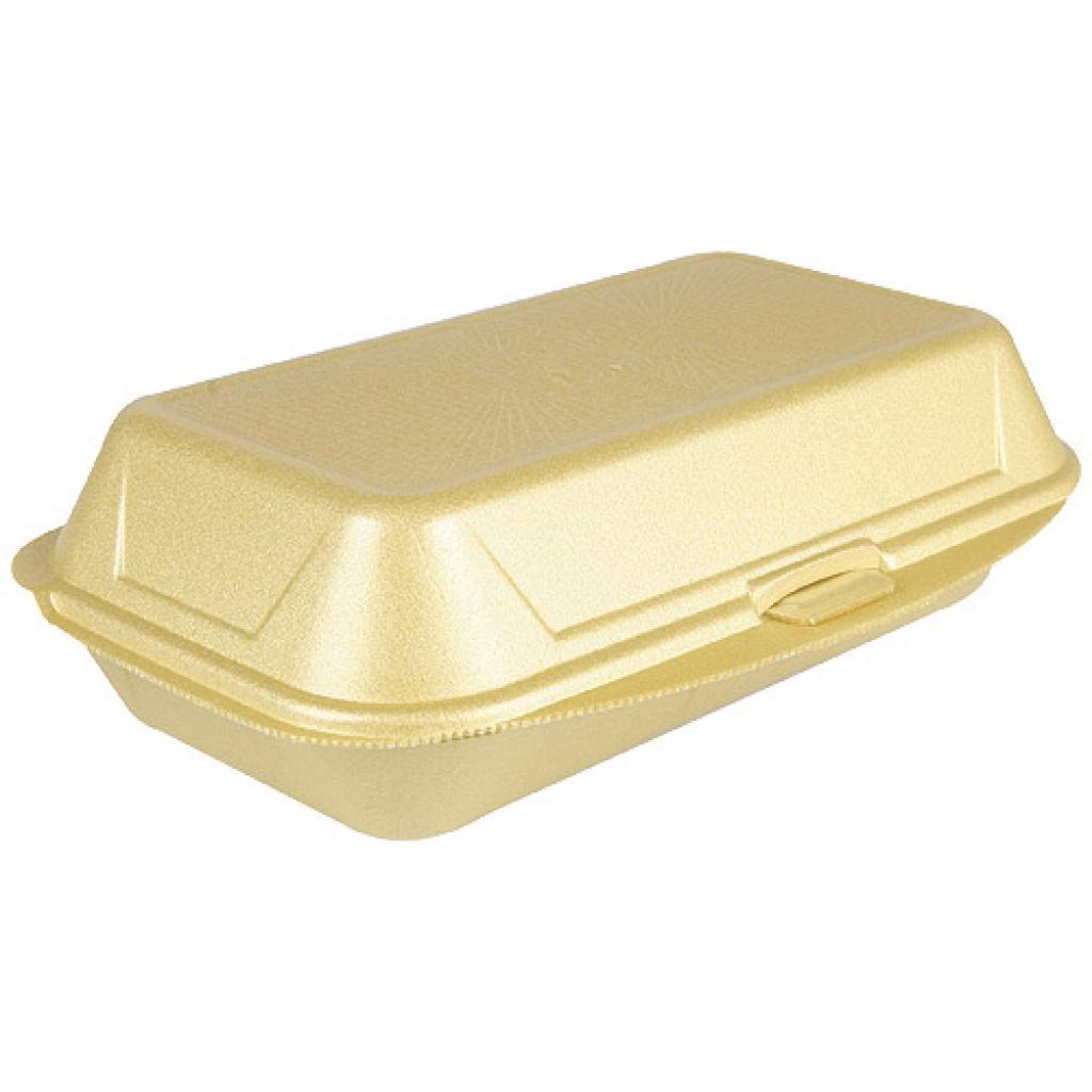 Gold-coloured all-purpose PSE box 240x155x70 mm
