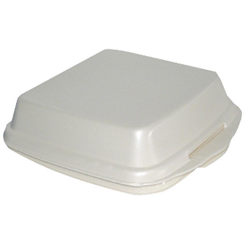 White PSE plastic boxe 240x210x70 mm