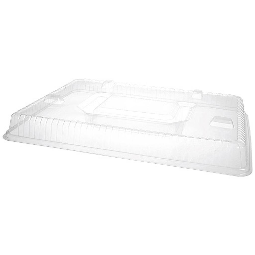 PS lid for 6-compartment dinner tray