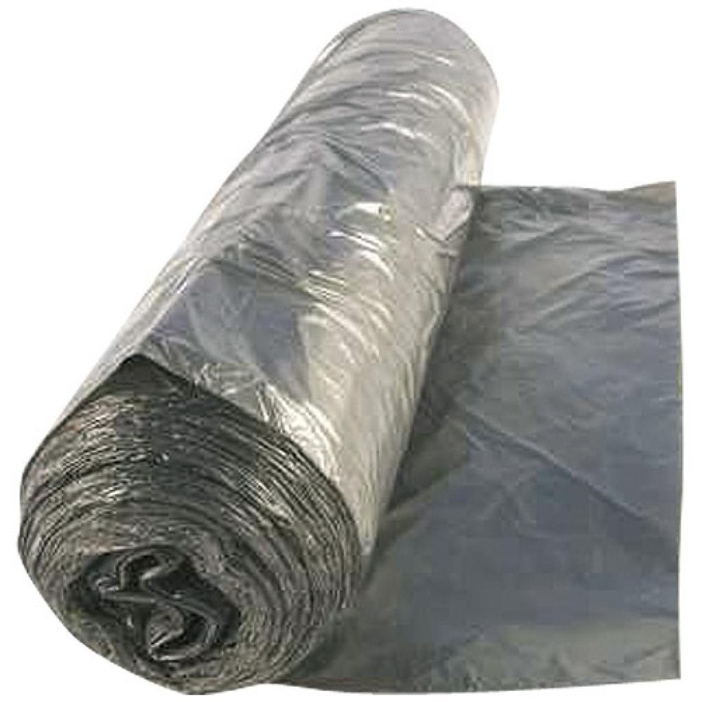 160 litre grey PE bin liner 60 µ ***