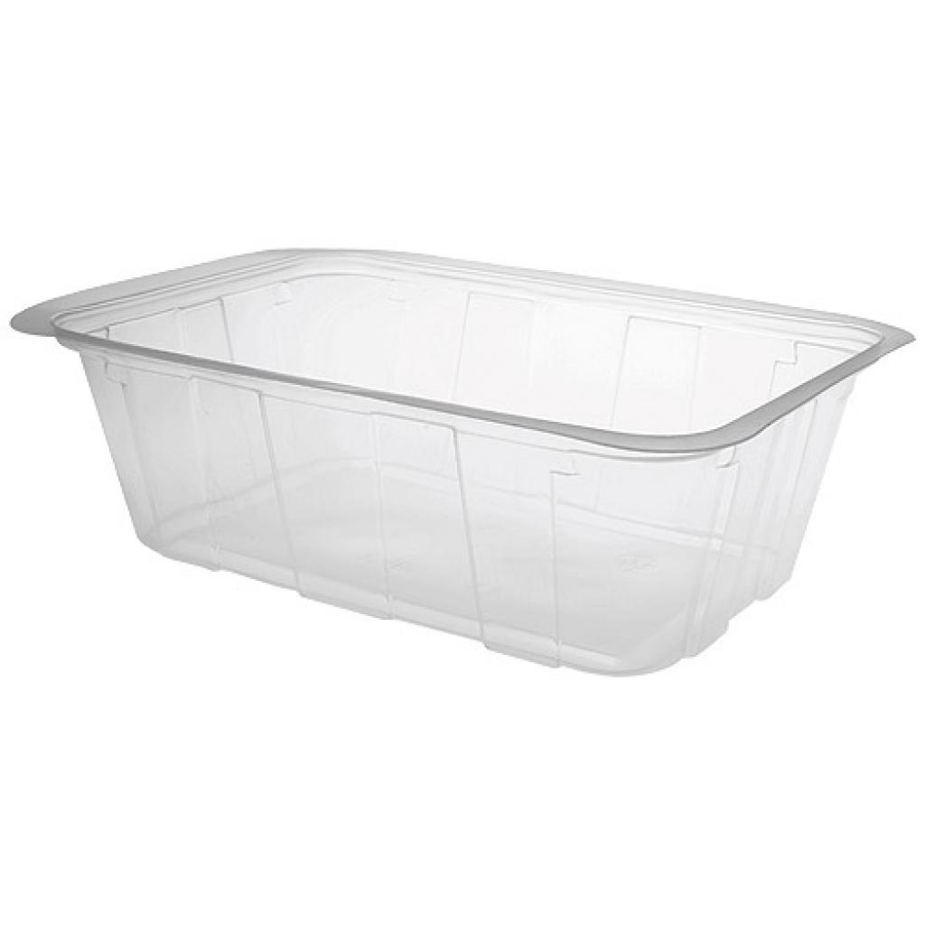 1000g transparent TMF plastic container
