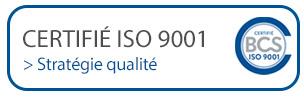 certificats ISO 9001 - Firplast